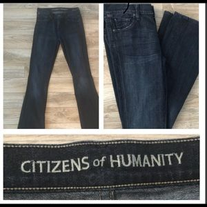 Citizens of Humanity Amber  Size 28  bootleg